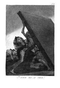 Les Caprices (1793-1798) de Goya