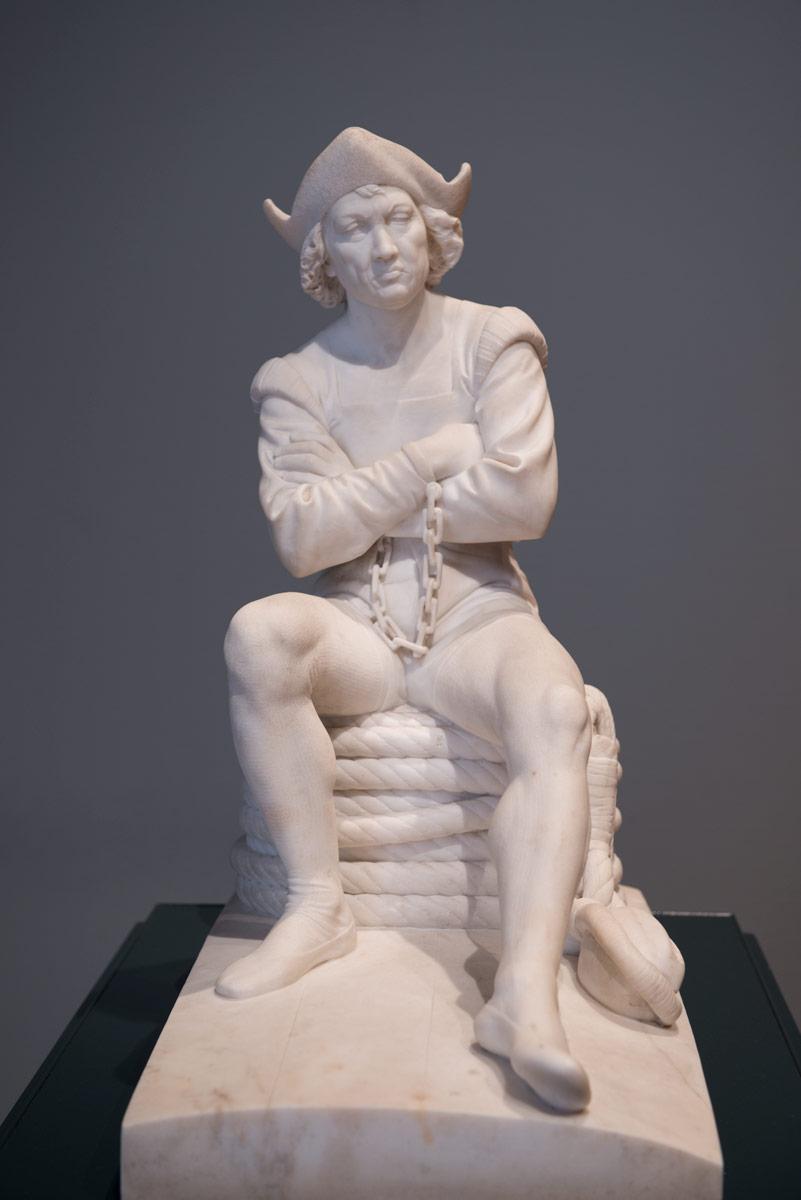 Benedetto Delisi - Cristoforo Colombo in catene