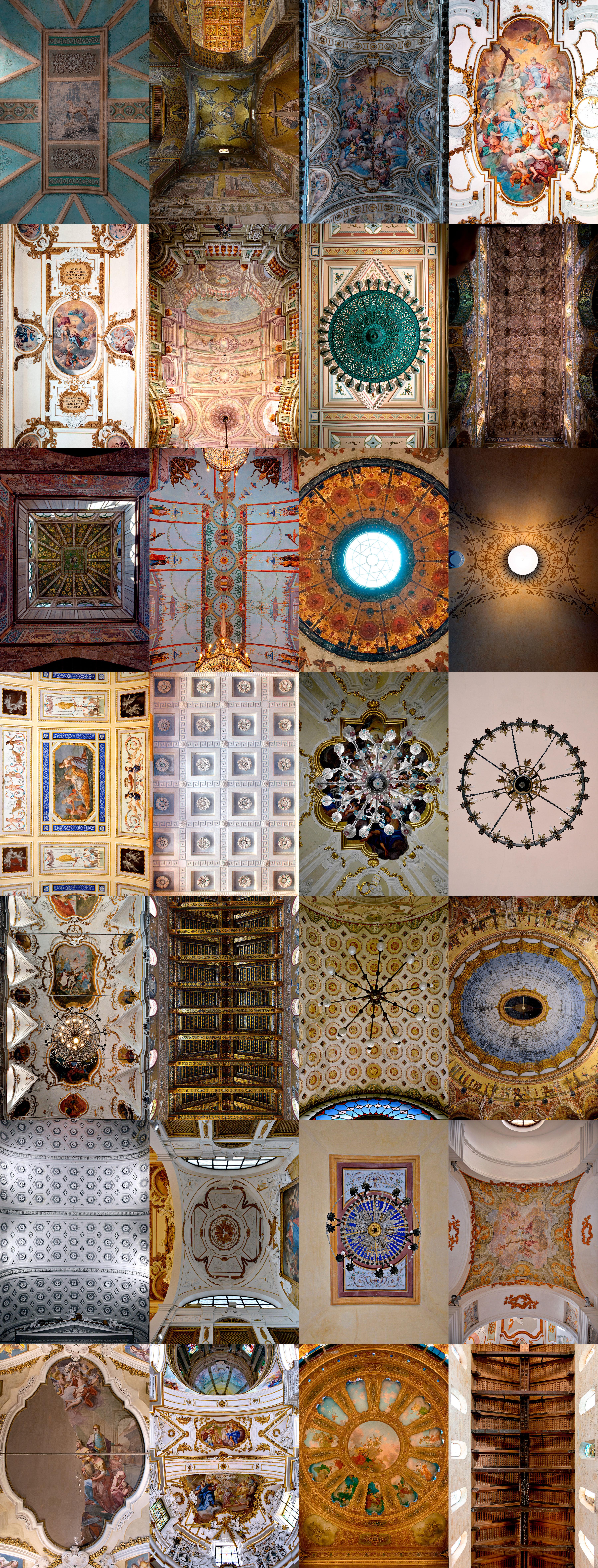 Sicilian ceilings