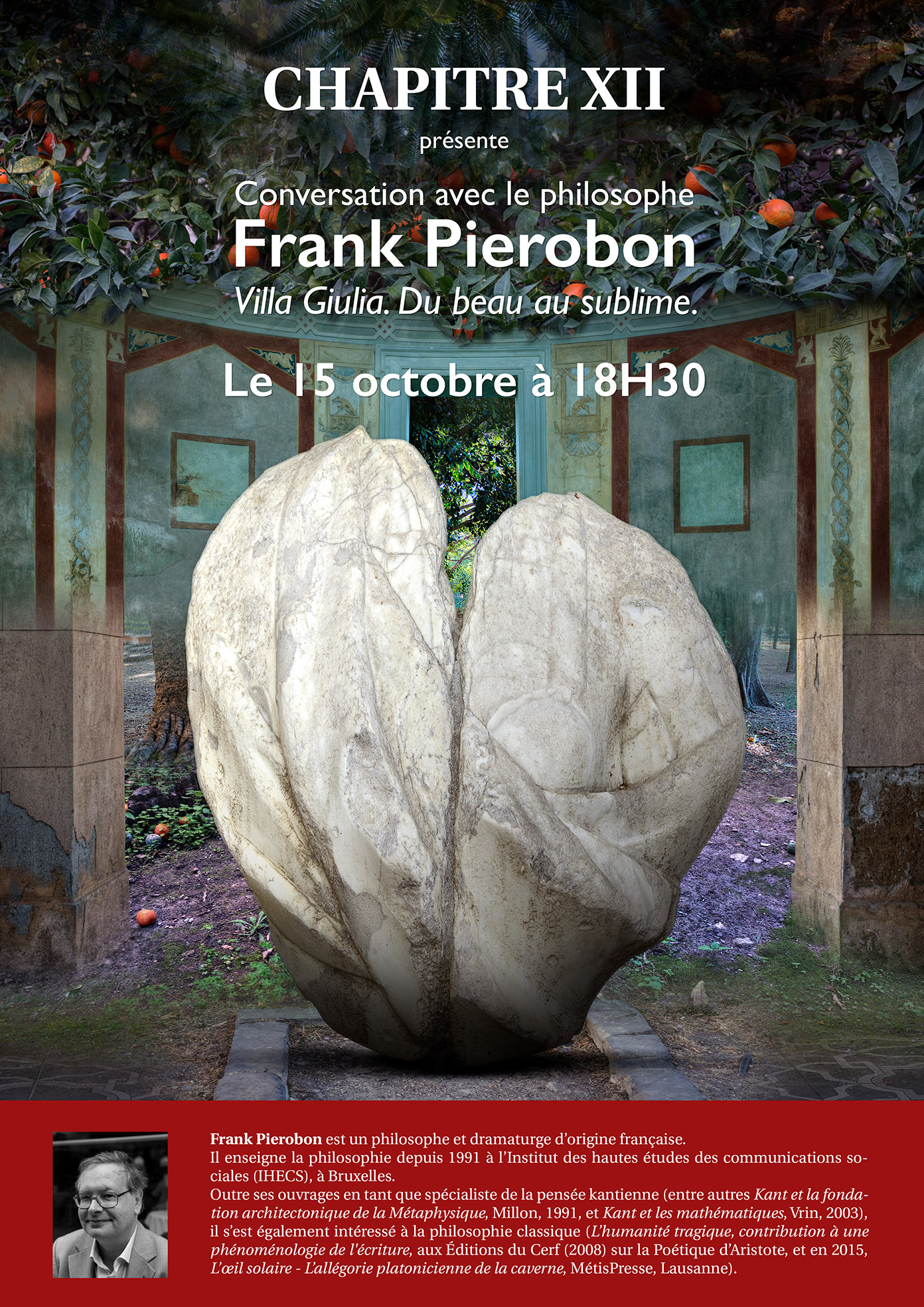 Frank Pierobon co CHAPITRE XII