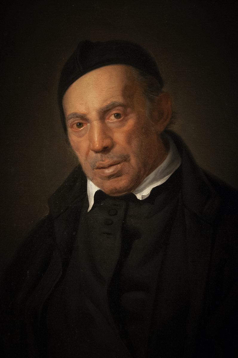 Giuseppe Patania - Ritratto di sacerdote infermo