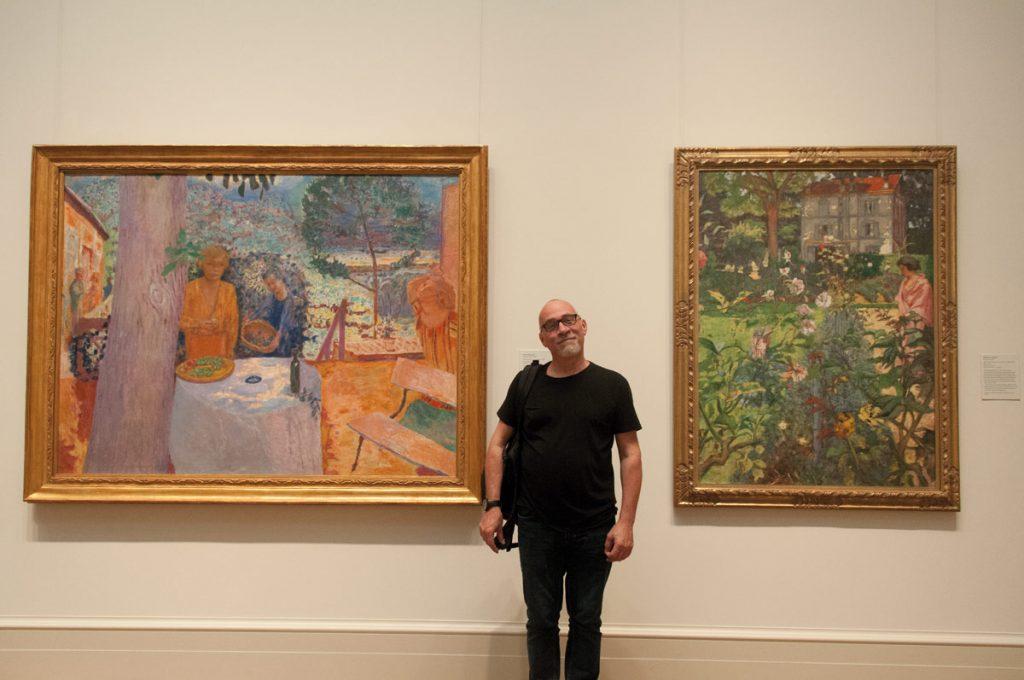 Between Bonnard and Vuillard